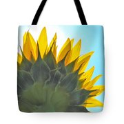 Ray Of Sunflower Tote Bag