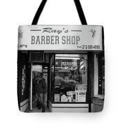 Ray's Barbershop Tote Bag