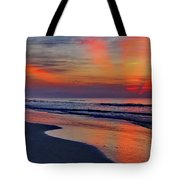 Rays From Heaven Tote Bag