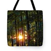 Rays Of Dawn Tote Bag