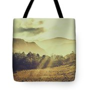 Rays Of Dusk Tote Bag
