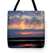 Rays Of Glory Tote Bag