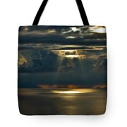 Rays Of God  Tote Bag