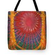 Rays Of Life Tote Bag