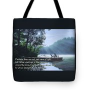 Rays Of Light - Place To Ponder Tote Bag