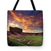 Razorback Sunset Tote Bag