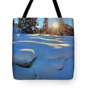 Reaching For Heat Tote Bag