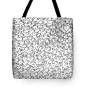 Reaching For Love Tote Bag