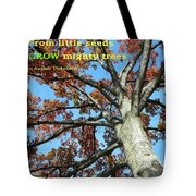 Reaching For The Sky 2 Tote Bag