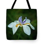 Reaching Iris Tote Bag