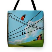 Reaching New Heights Tote Bag by Cindy Thornton