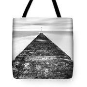 Reaching Out To Sea Tote Bag