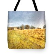 Reaching Some Trees After A Climb Tote Bag