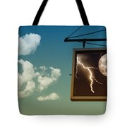 Read The Signs Tote Bag