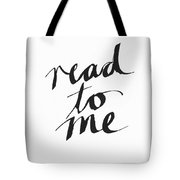 Read To Me- Art By Linda Woods Tote Bag