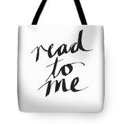 Read To Me- Art By Linda Woods Tote Bag