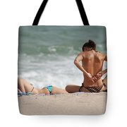 Reading And Bow Tie Tote Bag