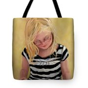 Reading Bee Tote Bag