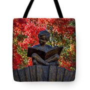 Reading Boy - Santa Fe Tote Bag