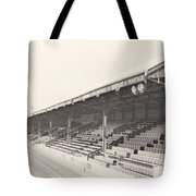 Reading - Elm Park - Norfolk Road Stand 2 - Bw - 1970 Tote Bag