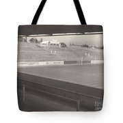 Reading - Elm Park - Reading End 1 - Bw - 1968 Tote Bag