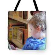 Reading Nurtures The Gardens Of The Mind Tote Bag