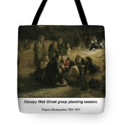 Reading Of The 1861 Manifesto Tote Bag