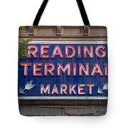 Reading Terminal Market Tote Bag