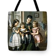 Reading To The Children Tote Bag