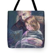 Reading With Poppy Tote Bag