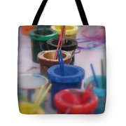 Ready   Set    Paint Tote Bag
