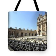 Ready For Pope's Appearance Tote Bag
