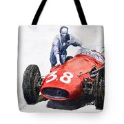 Ready For Racing Maserati 250 F Tote Bag