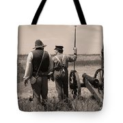 Ready On The Right Tote Bag