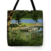 Ready To Row With No One To Go  Tote Bag