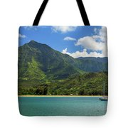 Ready To Sail In Hanalei Bay Tote Bag