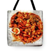 Ready To Serve Food Tote Bag