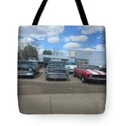 Readying To Race Tote Bag