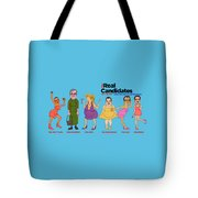 Real Candidates Of The Gop -clear Background Version 2 Tote Bag