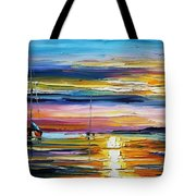 Real Sunset Tote Bag