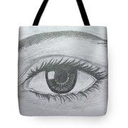 Realistic Eye Tote Bag