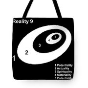 Reality 9 Tote Bag by Eikoni Images