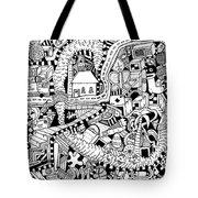 Reality Tote Bag by Chelsea Geldean