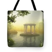 Realm Of Light Tote Bag by Melissa Krauss
