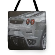 Rear Ferrari F430 Tote Bag