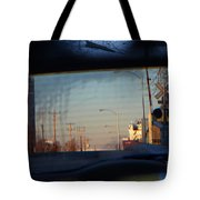 Rear View 2 - The Places I Have Been Tote Bag