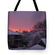 Rear Window To Surreal Tote Bag