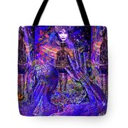 Spiritual Rebirth Of The Blue Planet Tote Bag