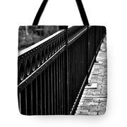 Receding Lines Tote Bag