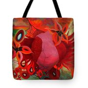 Receptive Heart Tote Bag